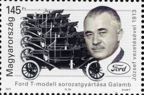 FORD T-MODELL SOROZATGYÁRTÁSA