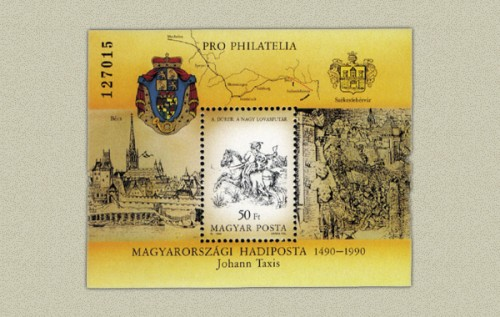 PRO PHILATELIA II. - BLOKK