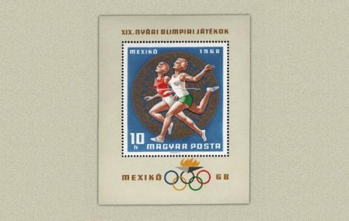 OLIMPIA V. - MEXIKÓ - BLOKK