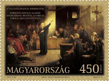 2018 450 éve tartották meg a Tordai országgyűlést - 2018 The Diet of Torda was held 450 years ago