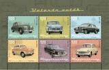 Veterán autók kisív -  Oldtimer cars sheet