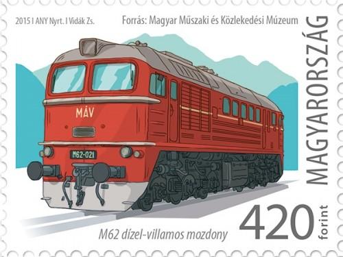 50 éve állt forgalomba az első M62-es mozdony Magyarországon