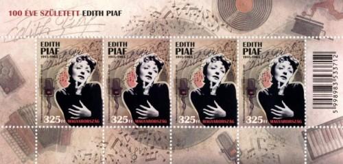 100 éve született Edith Piaf