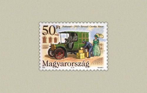 POSTAAUTÓ 1905