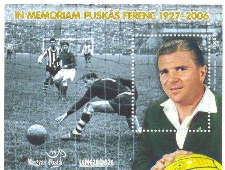 2007 PUSKÁS FERENC - EMLÉKÍV