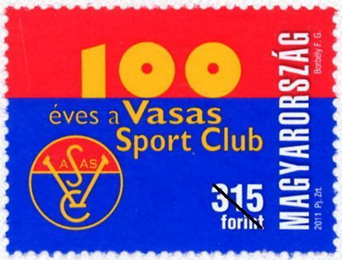 100 ÉVES A VASAS SPORT CLUB