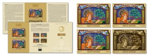 150 éve született Róth Miksa Speciál változatok és bélyegszett