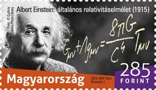 100 éve ismertette Albert Einstein az általános relativitáselméletet