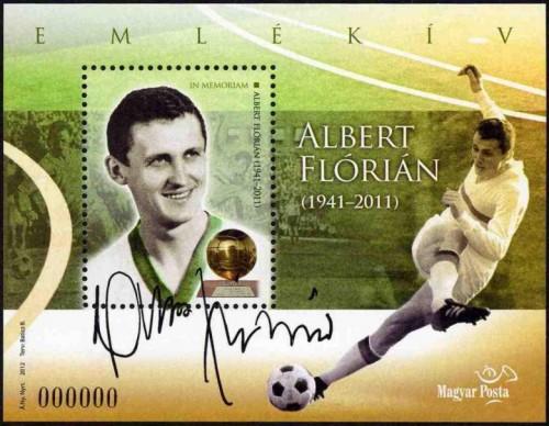 2012 IN MEMORIAM ALBERT FLÓRIÁN - EMLÉKÍV